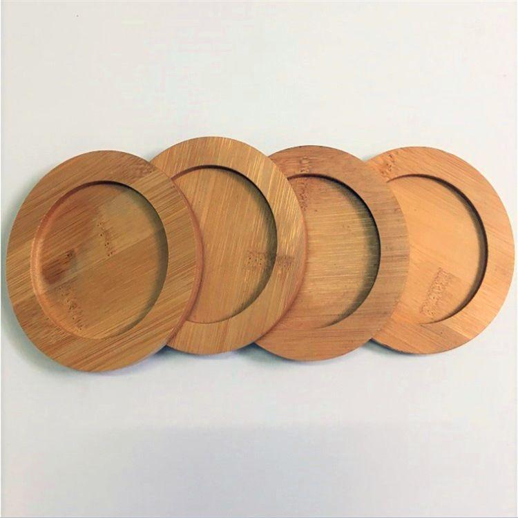 竹木隔热杯垫 木质杯垫 竹制杯垫 竹木杯垫定制