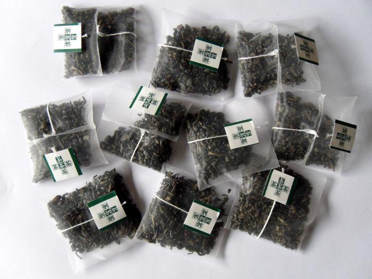 上海包装机械三角袋袋泡茶四方形样品_1811