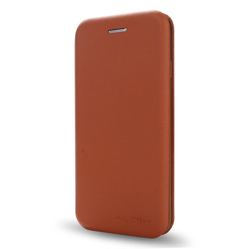 iPhone7手机皮套纯色插卡支架手机壳苹果6/8plus全包商务手机皮套