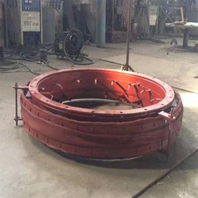 圆形非金属补偿器 专业生产脱硫脱销管道专用耐腐蚀非金属补偿器