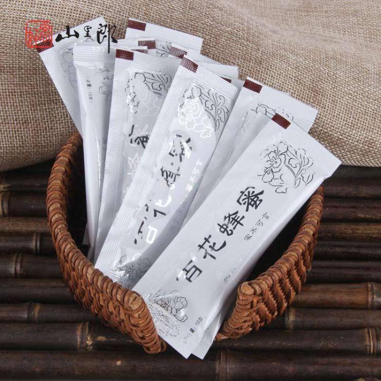 袋装蜂蜜 条蜜OEM贴牌代加工 百花蜂蜜10g蜂蜜小包装批发