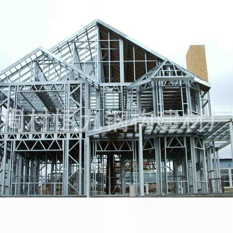 轻钢可拆卸别墅活动板房 高强度质量可靠防震耐用结实