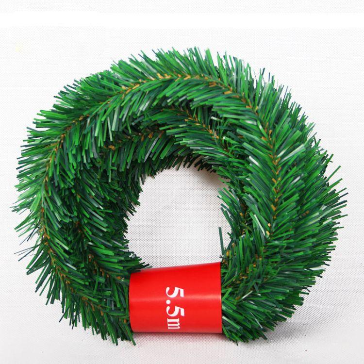 圣诞装饰品pvc毛条拉花酒店KTV商场超市广场节日气氛布置场地道具