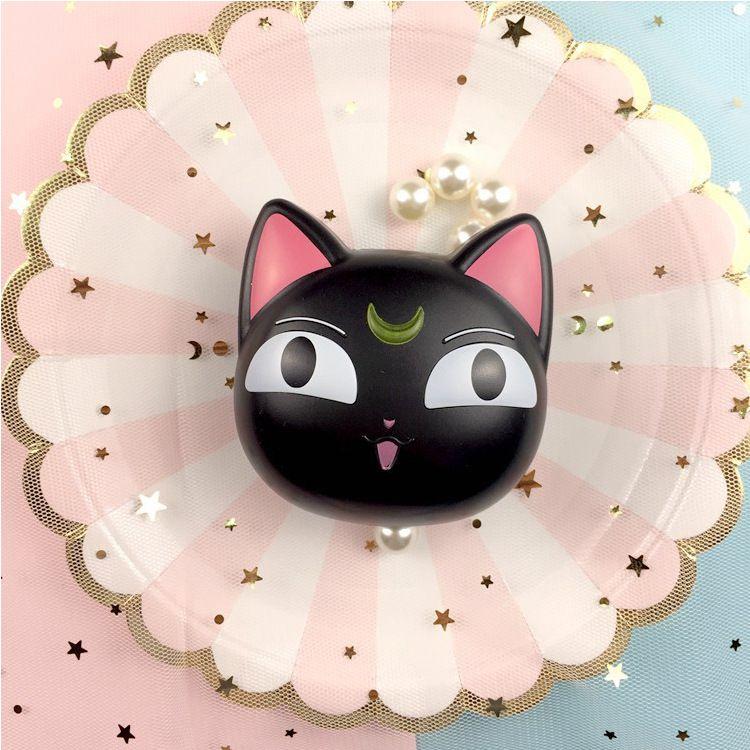 批发新款爆款猫咪隐形眼镜盒月亮猫伴侣盒美瞳盒可爱护理盒 修改