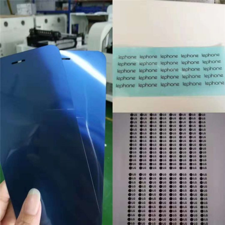 pet pe手机保护膜激光切割机 不干胶半切高精密激光切割机