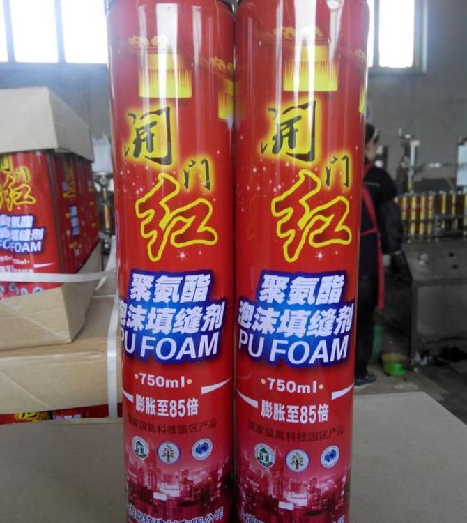 上海发泡胶 750聚氨酯泡沫填缝剂 建筑工程填充剂厂家直销密封胶