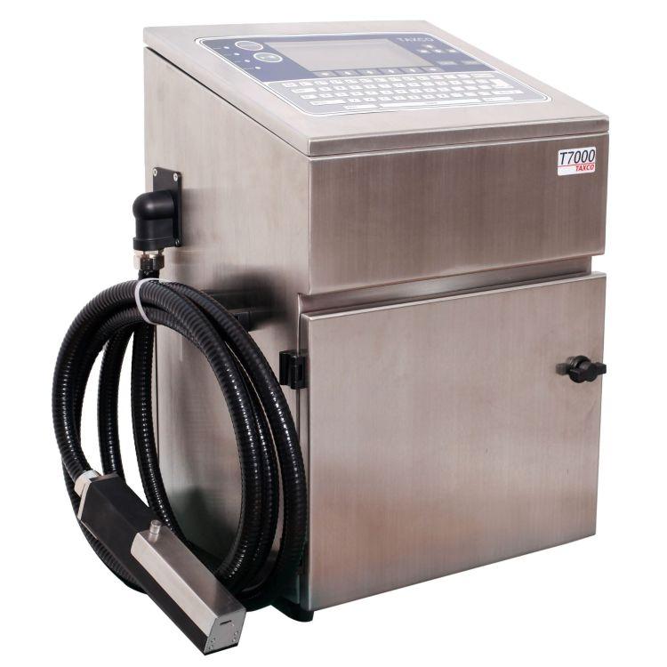 青岛食品机械喷码机 二维码小字符喷码机 食品生产日期喷码机