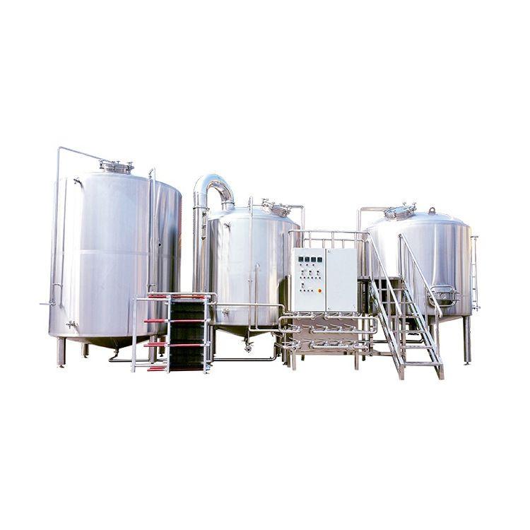 自酿精酿啤酒灌装生产线 发酵罐原浆酿造大型酿酒啤酒设备