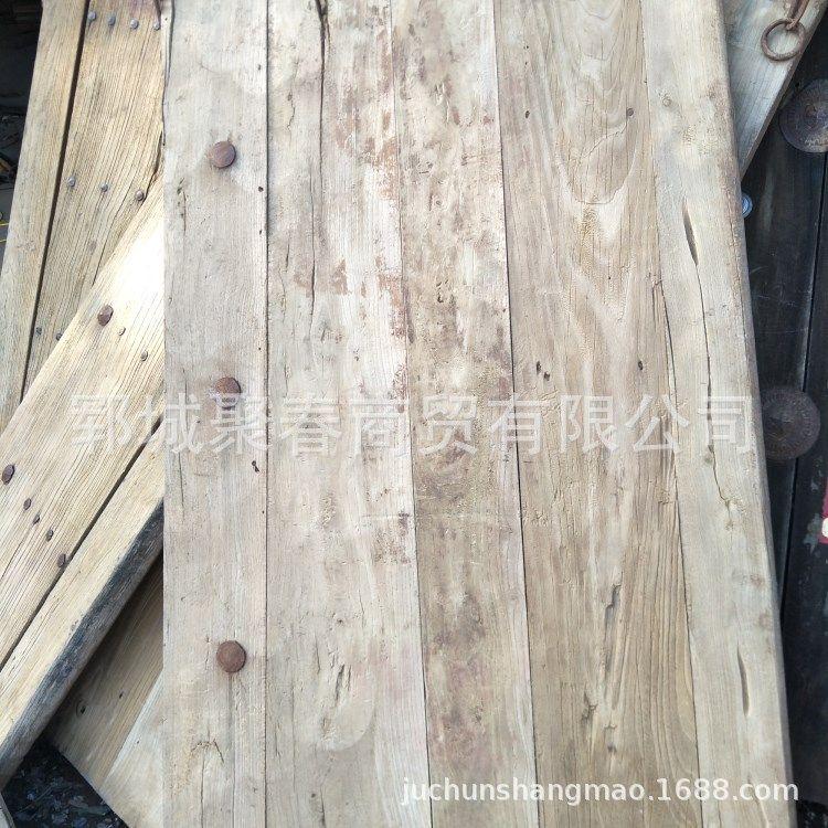 风化纹理老榆木哪里有老榆木家具好不好 榆木门板贵不贵