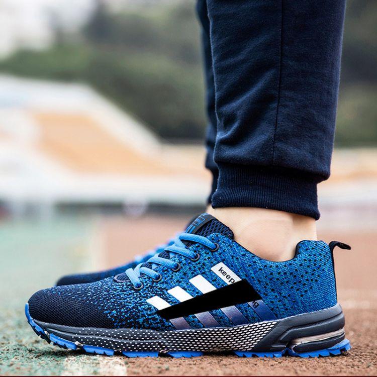 新款跑步鞋运动男鞋气垫鞋 一件代发气垫运动鞋男跑鞋