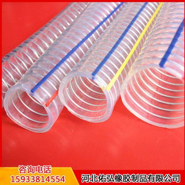 直销PU管、pu软管、大口径透明pu管、pu钢丝软管