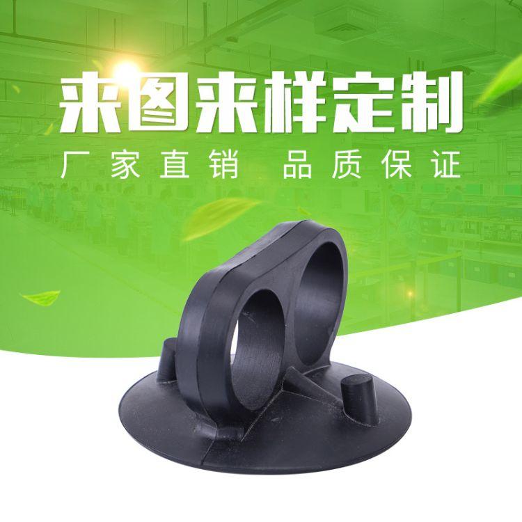 厂家供应硅胶橡胶吸盘强效玻璃吸盘防水牢固黑色橡胶真空吸盘批发
