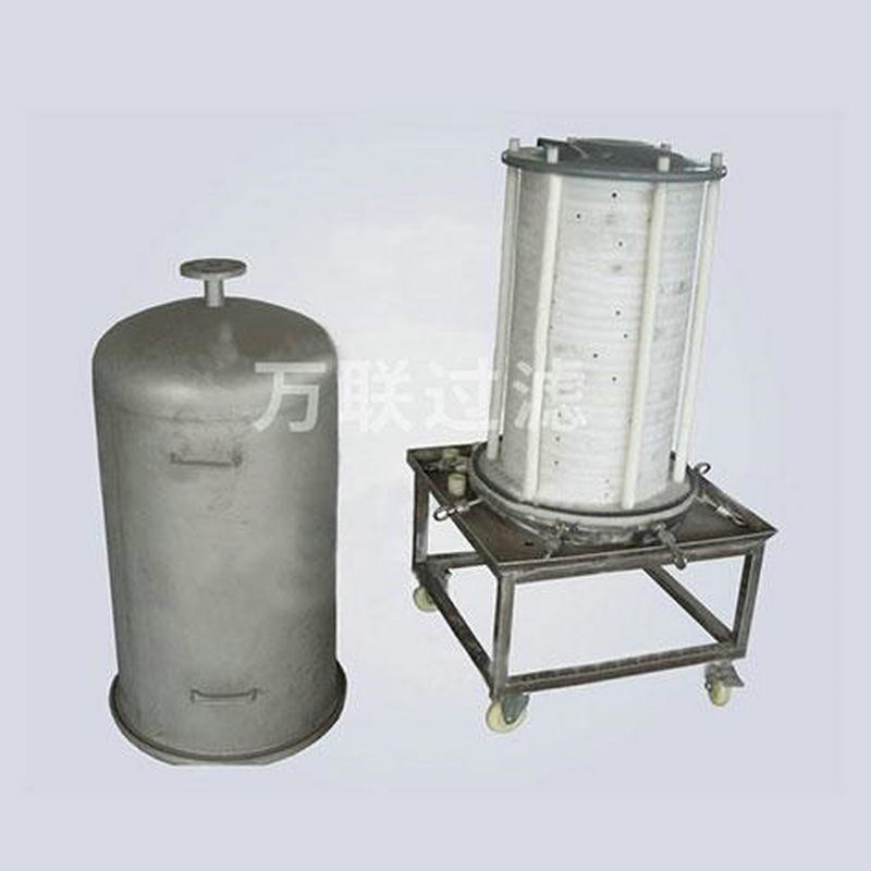 专业定制化工抗腐蚀耐酸碱层叠式过滤器 新型层叠式液体过滤器