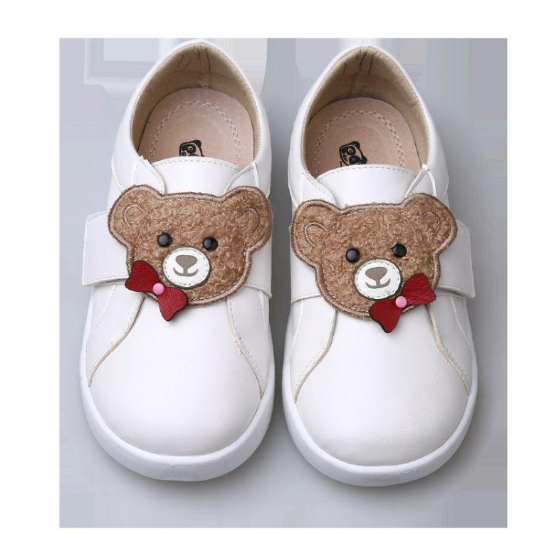 熊猫胖迪2018秋冬新款休闲鞋韩版中性小白鞋卡通熊猫时尚运动鞋