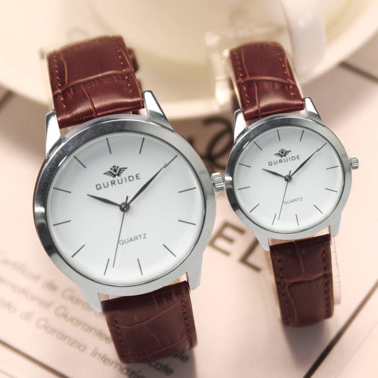 石英表2018新款 女士手表简约时尚 男女式情侣手表 厂家直销