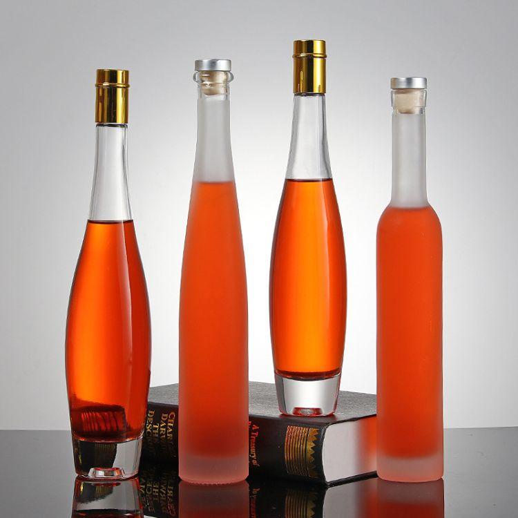 高档红酒瓶 375ML-500ML冰酒瓶葡萄酒瓶玻璃空瓶 洋酒瓶玻璃酒瓶