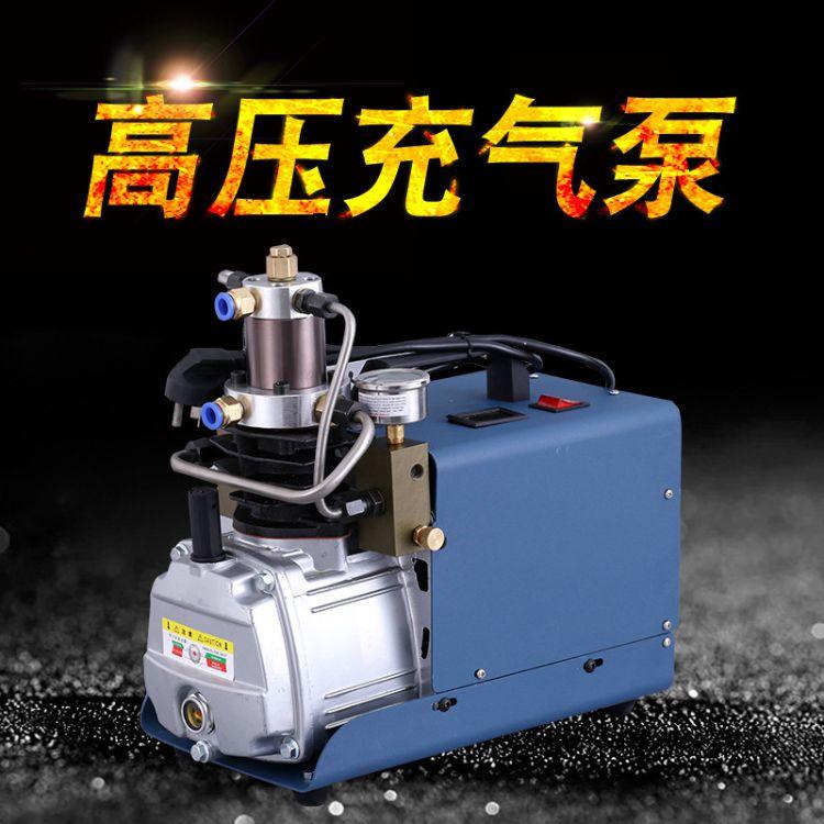 高压充气泵 电动打气机30mpa4500psi 电动充气泵 单缸水循环降温