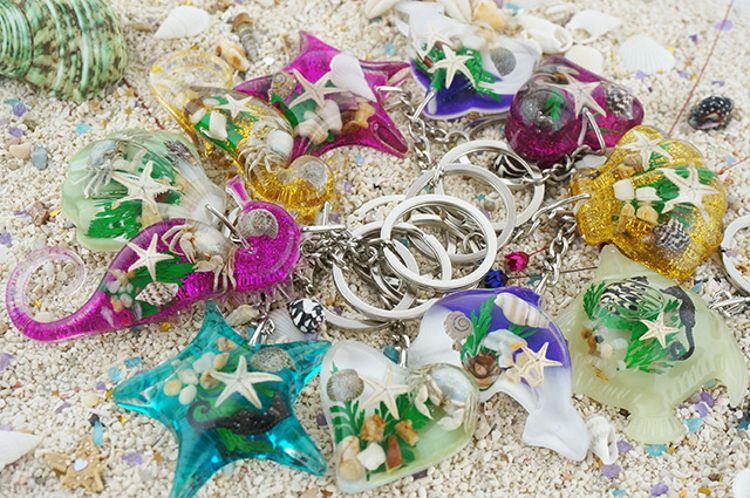 新款海洋馆热销工艺品礼品 海洋动物钥匙扣 学生假期活动赠品