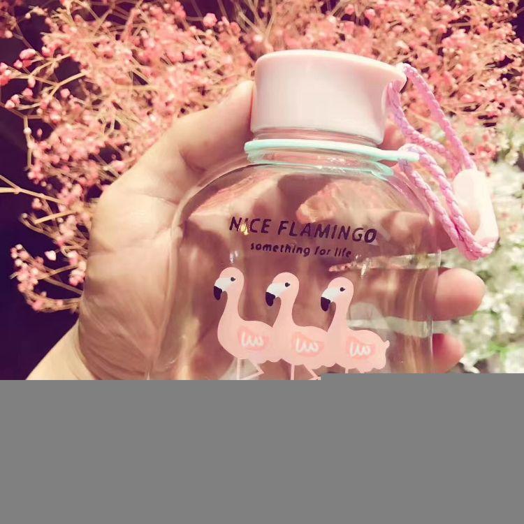 火烈鸟玻璃杯新款个性创意玻璃杯厂家促销特价玻璃水杯礼品广告杯