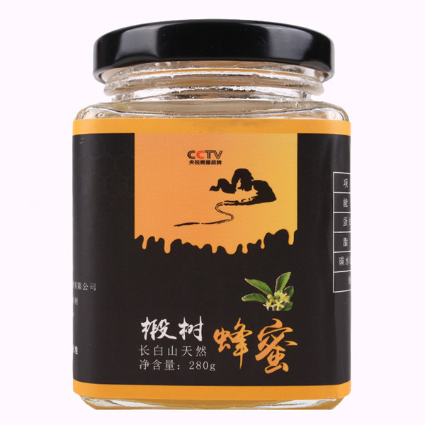 吉林椴树蜜放山娃品牌瓶装280g椴树蜂蜜天然土蜂蜜厂家现货批发