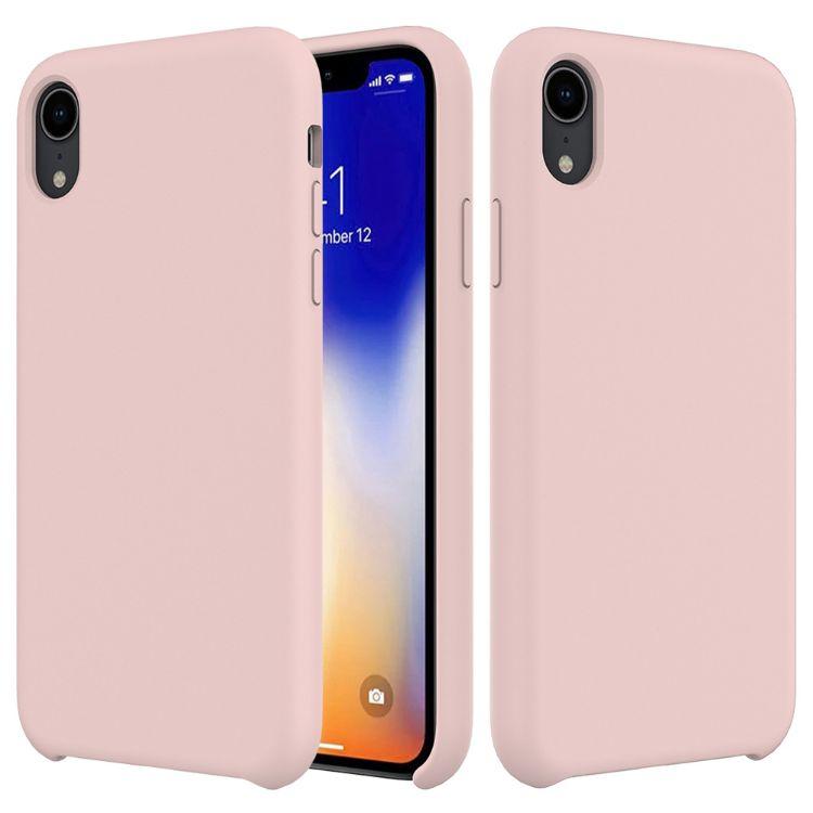 适用于iPhoneXS MAX 液态硅胶套 XR仿原硅胶套混批 防官网手机壳