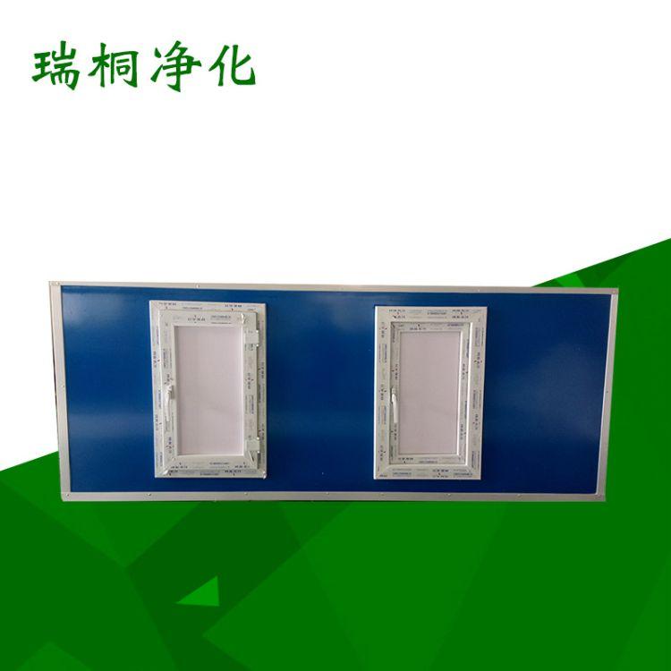 定制批发彩钢板风机箱 静压低噪音风机箱 净化箱静音设备抽风