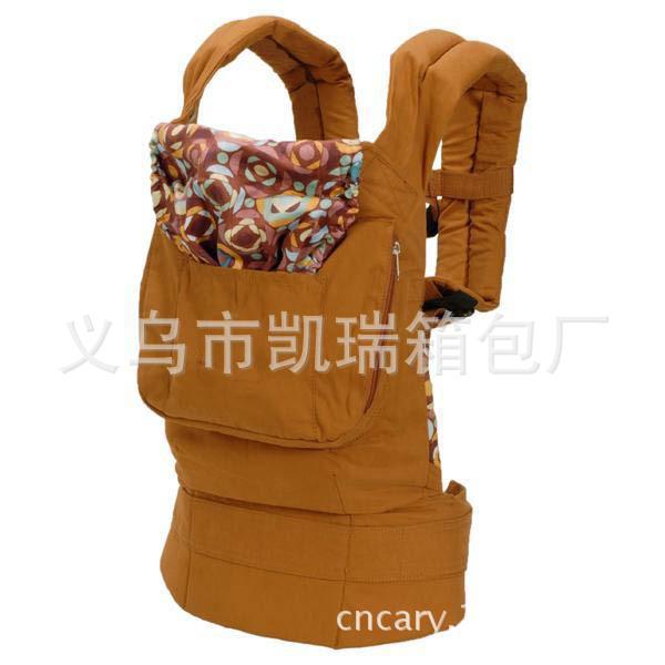 土黄婴儿背带美国baby婴儿背带夏款透气款宝宝背带bb抱袋背袋抱袋