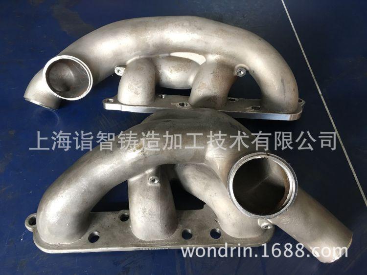 GTR排气歧管【GTR排气管】进气管【东瀛战神】精密铸造-AMS代工