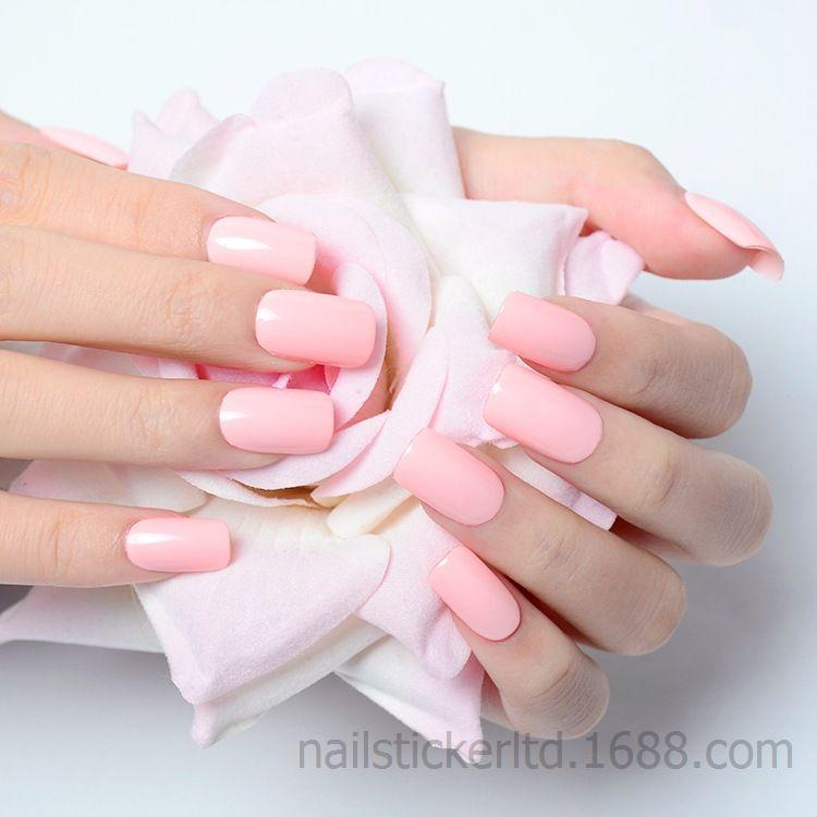 特价  优惠  正品  金属 葱粉 纯色指甲贴