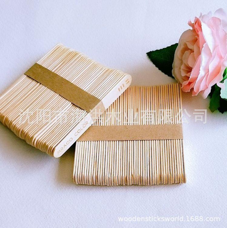 儿童DIY手工制作工艺木棒俄罗斯进口木材加工出口欧美雪糕棒114