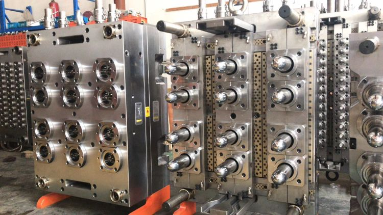 pet多腔模具 pet管胚塑料模具 标准口径广口瓶胚模具