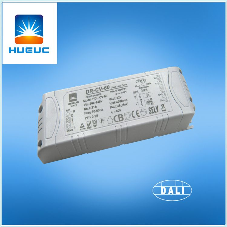 深圳厂家供应60W DALI调光电源,DALI 协议驱动器,电子变压器.