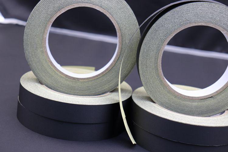 醋酸布 可撕型醋酸布胶带 黑色醋酸布胶带 0.120.20厚醋酸布胶带