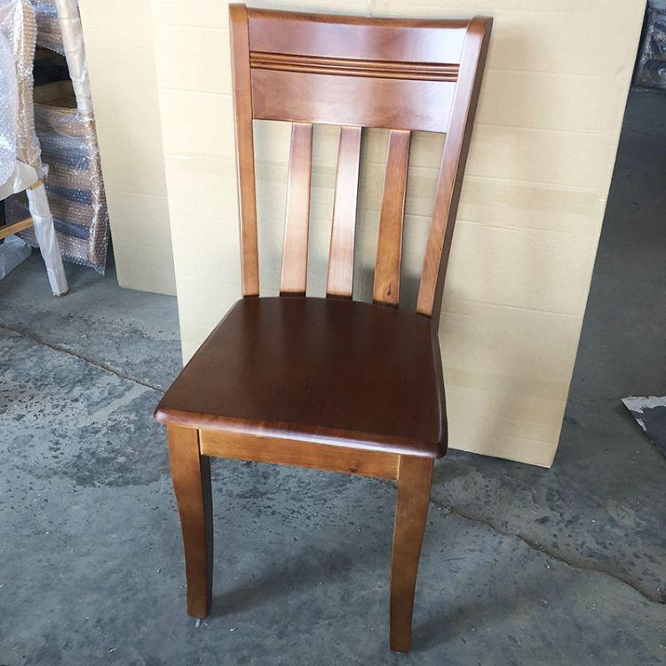 厂家直销高端新中式实木餐椅 定制实木餐桌餐椅白茬成品均可成单