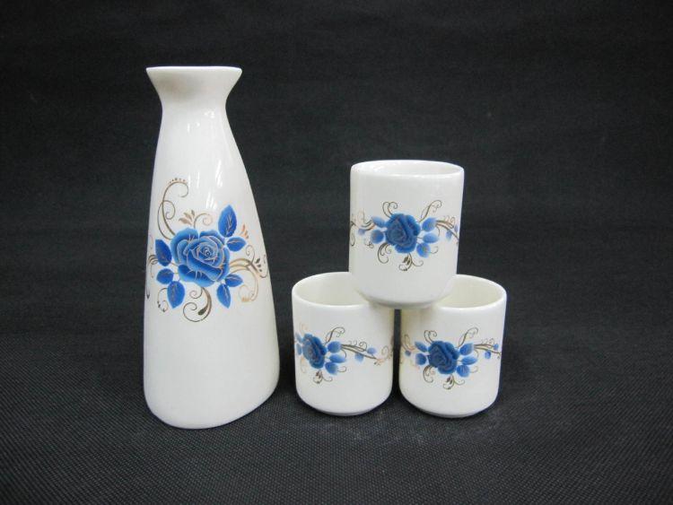 自生釉陶瓷酒具