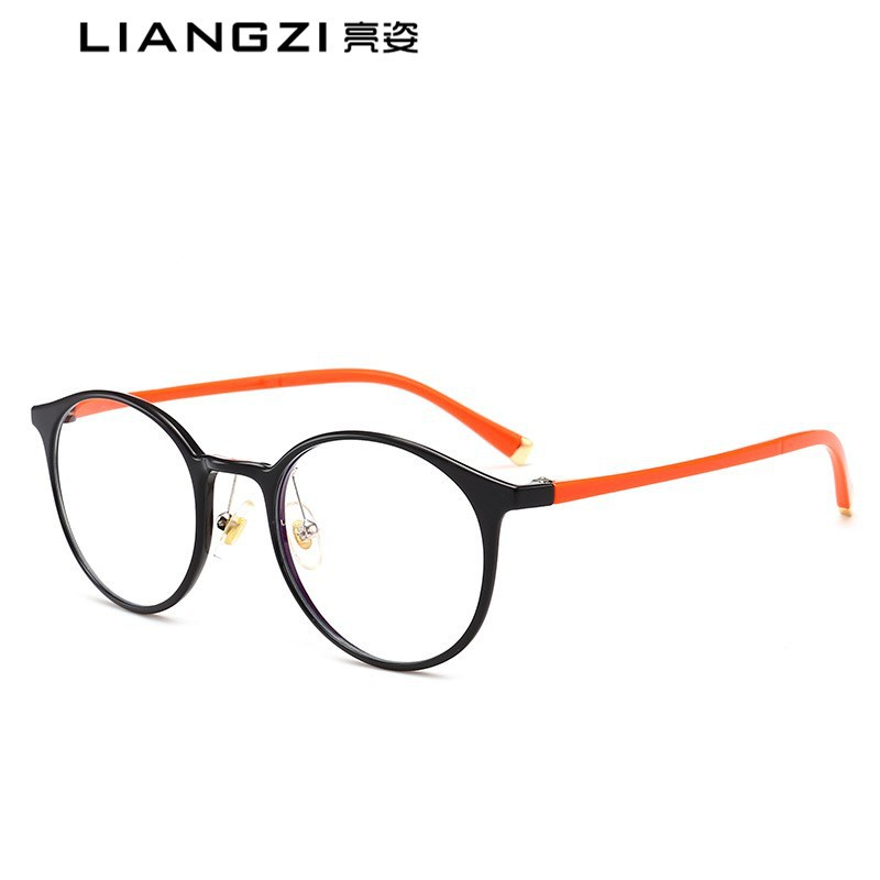 2018新款復古平光鏡TR90超輕近視眼鏡框架防藍光男女通用平光鏡