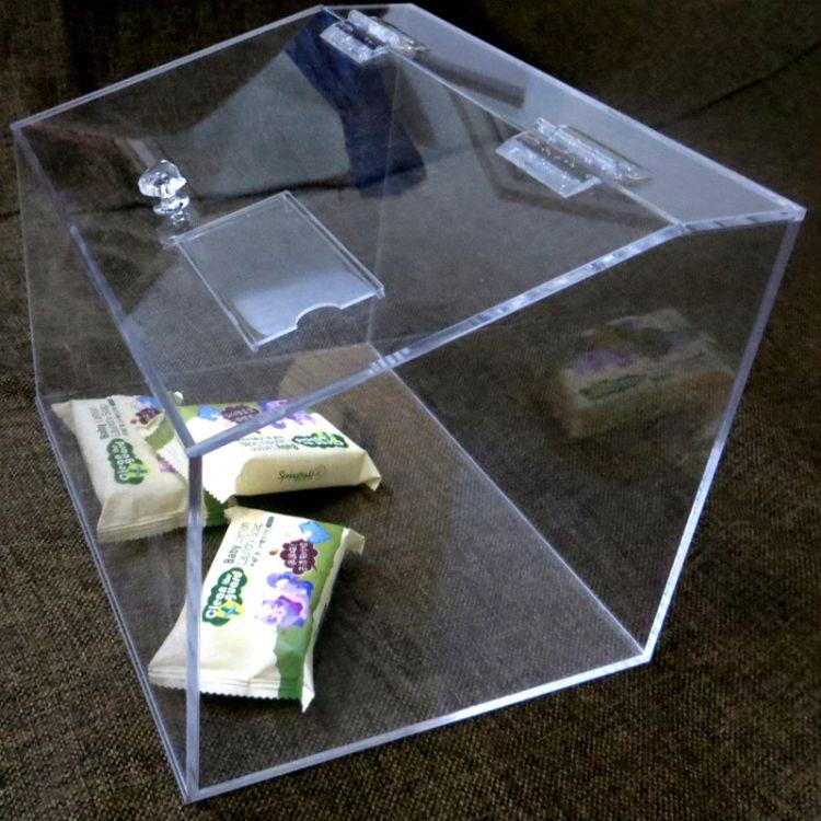 定制亚克力食品盒 超市干货防潮箱 亚克力食品收纳盒 加工 批发
