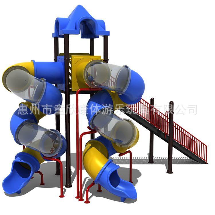 四川幼儿园 大型龙洞螺旋滑梯 幼儿园游乐设施 幼儿园滑梯定制