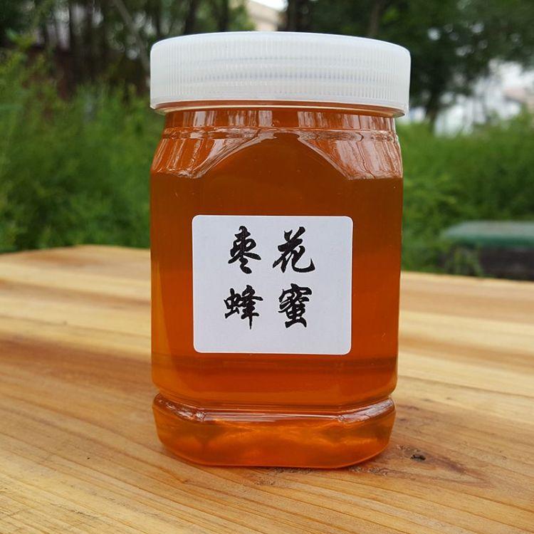 老吴养蜂场批发定制 塑料瓶装500g天然枣花蜂蜜 农家自产土蜂蜜