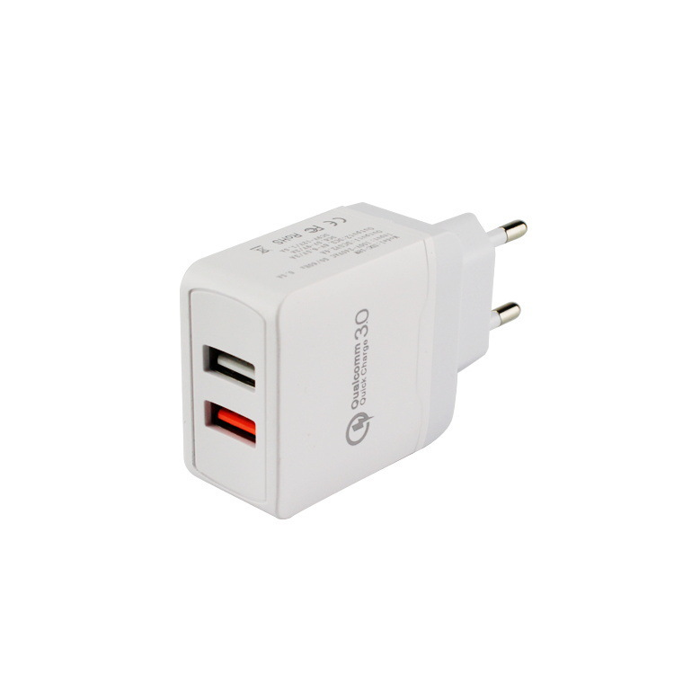 QC3.0快充qc3.0+2.4A双路快充30W全协议QC4.0快充折叠快速充电器