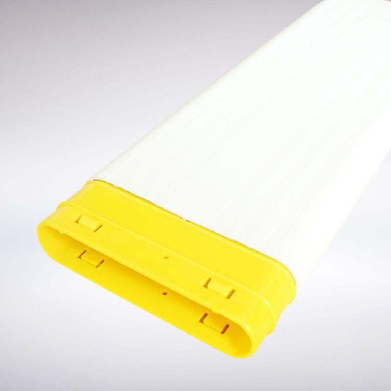 专业批发TC风箱接头 ABS黄色风箱接头 地送风管件接头