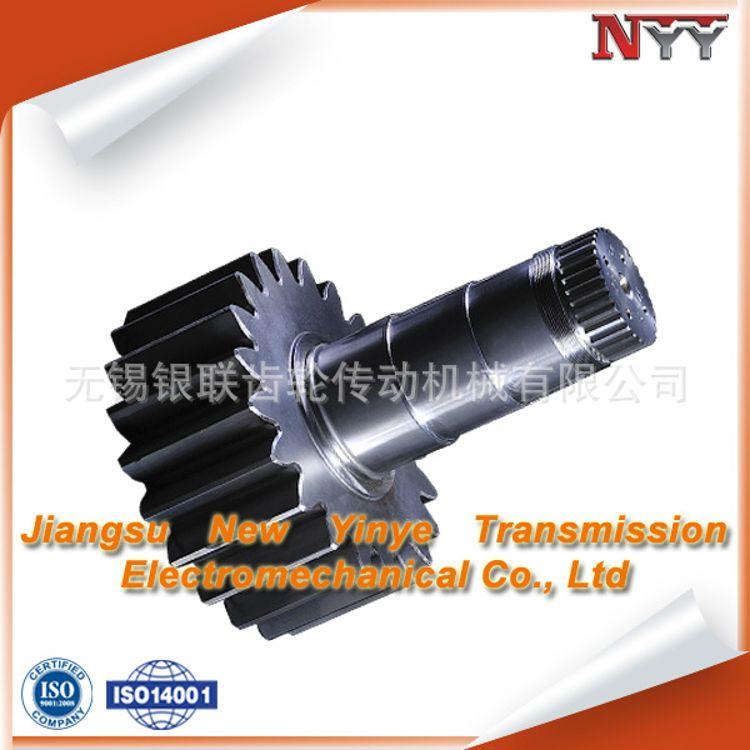无锡齿轮厂家 专业生产高精度风电 20模数偏航齿轮轴