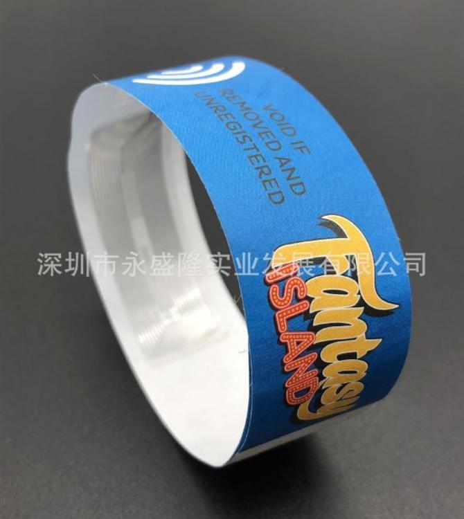 一次性RFID腕带,一次性电子标签腕带,一次性自动识别腕带