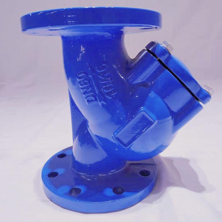 恒盟阀门 厂家  Y型过滤器 GL41过滤器 DN100 DN150  dn100液体过滤器
