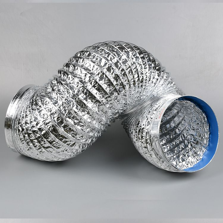 新国各种型号钢丝通风管,铝箔通风管,铝箔软管,油烟机排风管