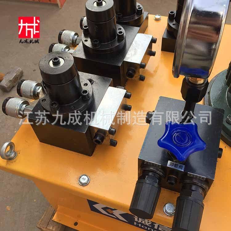 静载实验专用电动液压泵站 基桩检测 压力可调 逐级增压 逐级减压
