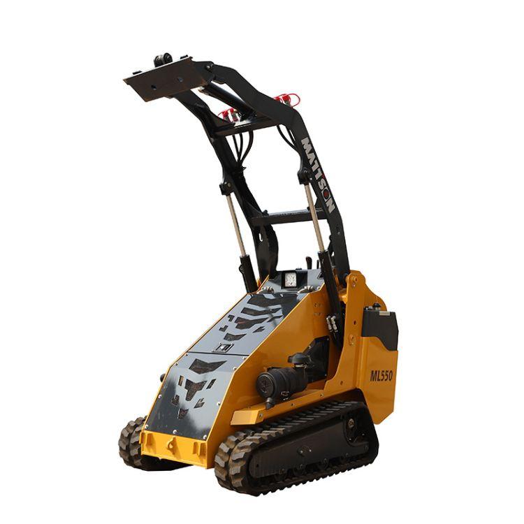 多功能滑移装载机 推铲沙石土料铲车属具齐全 50马力进口发动机