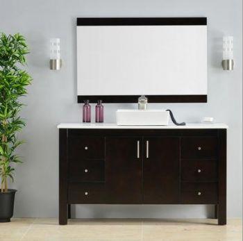 乌木浴室柜-乌木家具-精品卫浴家具-高档家具-环保洁具