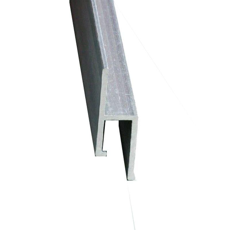 软膜厂家直销 吊顶装饰材料 软膜专用铝合金龙骨h F平口扁码批发