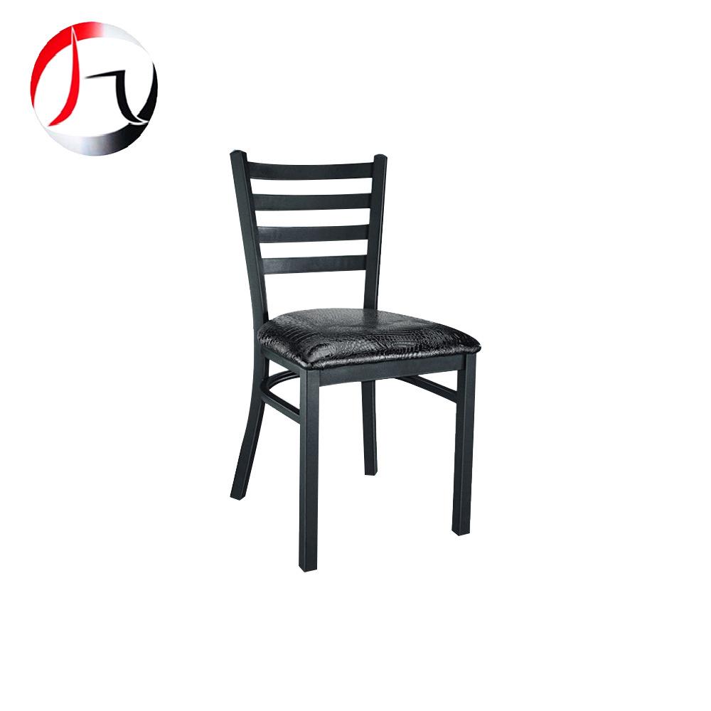 30方管铁宴会椅 家用休闲餐椅 户外活动椅家用软垫餐椅 质保三年
